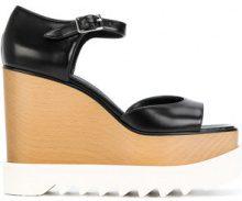 Stella McCartney - Sandali 'Elyse' - women - Artificial Leather/rubber - 38, 39, 38.5, 40 - Nero