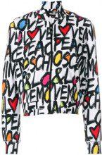 Love Moschino - Felpa con zip - women - Cotone - 42 - WHITE