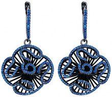 Fei Liu Fine Jewellery Orecchini a pendolo e goccia Donna argento - CAS-925B-202-BLCZ