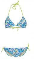 EMMA - Bikini - blue flowers