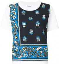 COOHEM - T-shirt con stampa provenzale - women - Cotone/Polyester - 36 - Blu
