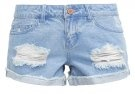 NMFRAN  - Shorts di jeans - light blue denim