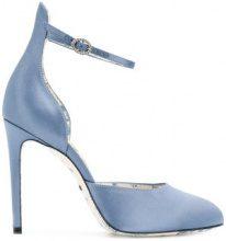 Gucci - Pumps D'Orsay - women - Satin Ribbon/Leather - 36, 37.5, 38, 38.5, 39, 40 - Blu
