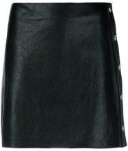 Sonia Rykiel - mini skirt - women - Lamb Skin - 36, 38 - Nero