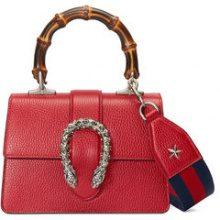 Gucci - Dionysus mini top handle bag - women - Bamboo/Cotone/Leather/Palladium - OS - Rosso