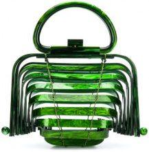 Cult Gaia - Lilleth mini bag - women - Acrylic - One Size - Verde