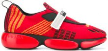 Prada - Sneakers in mesh - women - Nylon/Leather/rubber - 35, 37, 39 - RED