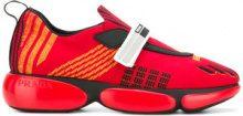 Prada - Sneakers in mesh - women - Leather/Nylon/rubber - 35, 37, 39 - Rosso
