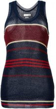 Isabel Marant Étoile - striped knitted vest top - women - Polyester/Viscose - 38, 40, 42, 36 - BLUE