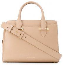 Salvatore Ferragamo - Borsa con doppio manico - women - Calf Leather/Leather - OS - Color carne & neutri