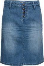 Gonna di jeans elasticizzato morbido (Blu) - John Baner JEANSWEAR