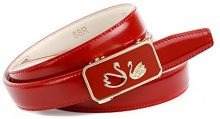 Anthoni Crown A4RS88R, Cintura Donna, Rosso (Rot 060), 90 cm