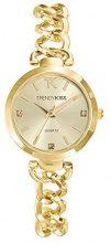 Trendy Kiss TMG10066-07 - Orologio da polso donna, metallo, colore: Oro