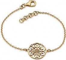 Engelsrufer Bracciale ornamento per le donne oro placcato argento 925-Sterling lunghezza 16cm (6,30