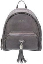 Liu Jo - Piave backpack - women - Polyester/Poliuretano Resina - OS - Grigio