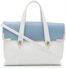Versace Jeans - bicolour satchel bag - women - Polyester - OS - Bianco