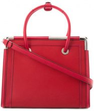 Karl Lagerfeld - Rocky Saffiano tote bag - women - Leather - One Size - Rosso