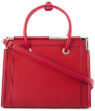 - Karl Lagerfeld - Rocky Saffiano tote bag - women - pelle - Taglia Unica - di colore rosso