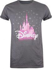 Disney Castle, T-Shirt Donna, Grigio (Charcoal CHA), 46(Dimensioni Produttore: Large)