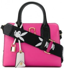 Marc Jacobs - Little Big Shot tote bag - women - Leather - One Size - Rosa & viola