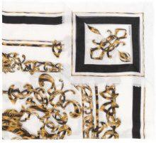 Versace - Barocco print scarf - women - Silk/Modal - OS - WHITE