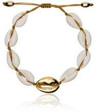 Tohum - Bracciale - women - Shell/Gold Plated Brass - OS - WHITE