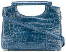 A.N.G.E.L.O. Vintage Cult - Colombo handbag - women - Crocodile Leather - OS - Blu