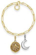 Thomas Sabo Braccialetto Link ad anello Donna argento - SET0497-414-14-L18,5
