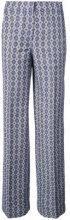 Derek Lam - Wide Leg Trouser - women - Cotone/Linen/Flax - 36, 40, 42, 44 - Blu