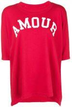 Zadig&Voltaire - Portland T-shirt - women - Cotone/Modal - XS, S, M, L - RED