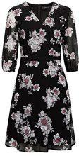 ESPRIT Collection 018eo1e014, Vestito Donna, Nero (Black 2 002), 46 (Taglia Produttore: 40)