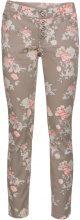 Pantalone skinny a fiori