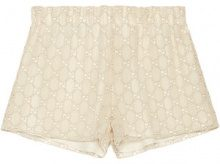 Gucci - Shorts di macramé - women - Cotone/Polyester - 36 - Bianco
