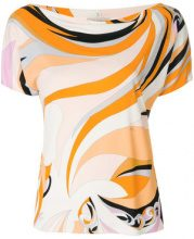 Emilio Pucci - Blusa con stampa all-over - women - Silk/Viscose - 42, 44, 46 - Multicolore