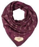 TAREE KEFIR - Foulard - bordeaux
