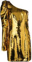 Amen - Mini abito monospalla - women - Polyester/Viscose/Polyamide/Spandex/Elastane - 40, 42, 44, 38 - METALLIC