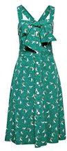 edc by Esprit 058cc1e009, Vestito Donna, Multicolore (Green 310), 42 (Taglia Produttore: 36)