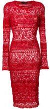 Isabel Marant - Vestito a matita - women - Cotone/Polyamide/Spandex/Elastane - 38, 40, 42, 44 - Rosso