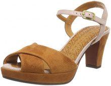 Chie Mihara Isae, Sandali con Cinturino alla Caviglia Donna, Arancione (Ante Biscuit-Danna Nude Ante Biscuit-Danna Nude), 39 EU