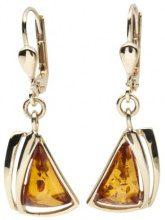 InCollections 1000163194L100 - Orecchini pendenti da donna con ambra, oro giallo 8k (333)