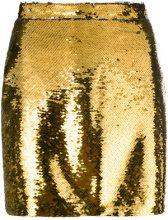 - Amen - Mini gonna - women - fibra sintetica - 42, 44, 46, 48, 38, 40 - effetto metallizzato