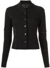 Uma - Raquel Davidowicz - panelled jacket - women - Cotone/Wool - 40, 42 - Nero