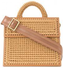0711 - Copa large woven handbag - women - Acrylic - OS - Color carne & neutri