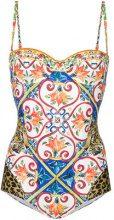 Dolce & Gabbana - Costume intero - women - Polyamide/Spandex/Elastane/Polyurethane/Polyester - 4 - MULTICOLOUR