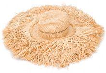 Lola Hats - oversized hat - women - Raffia - OS - NUDE & NEUTRALS
