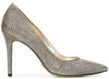 Michael Michael Kors - pointed toe Flex pumps - women - Cotone/rubber - 5, 5,5, 6, 6,5, 7, 7,5, 8, 8,5, 9, 10, 11, 9,5 - Metallizzato