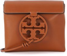 Borsa a tracolla Tory Burch Miller in pelle color cammello