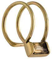 Cornelia Webb - Orecchino 'Slized' - women - Gold Plated Brass - OS - Giallo & arancio
