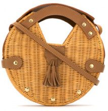 Serpui - straw shoulder bag - women - Straw - OS - BROWN