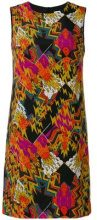 M Missoni - geometric print shift dress - women - Silk/Polyester - 38, 40, 42 - YELLOW & ORANGE